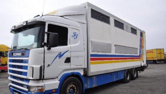 1997 Scania 124 6X2 400