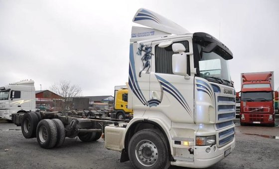 2008 Scania R480 6X2 Parabel/Manuell