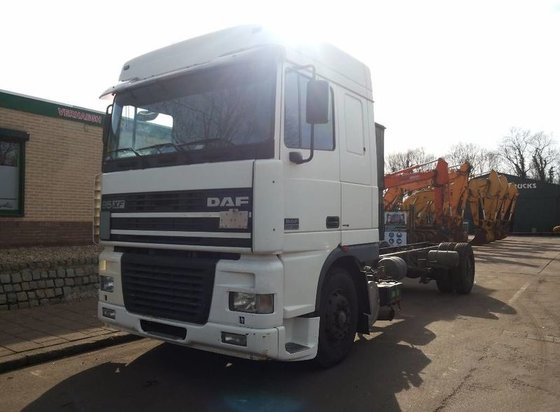 2001 DAF XF.380 Cab chassis