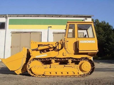 1979 Hanomag 600 C Crawler