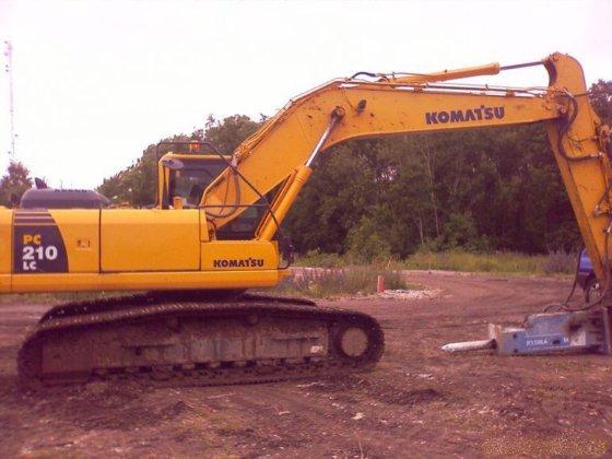 2007 KOMATSU PC210LC-8 Crawler excavator