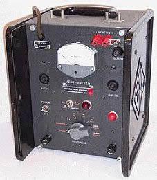 General Radio 1862B Megohm Tester