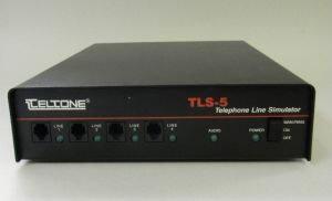 Teltone TLS5A-01 Telephone Line Simulator