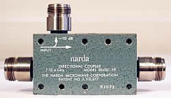 Narda 3045C-10 Coax Coupler in