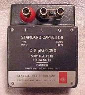 General Radio 1409U 0.2uF Standard