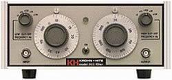 Krohn-Hite 3103 Variable Bandpass Filter