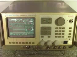 Motorola R2600CHS Communications Analyzer in