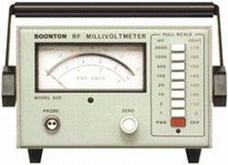 Boonton 92E RF Millivoltmeter in