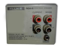 Fluke 742A-10 10 Ohms Resistance
