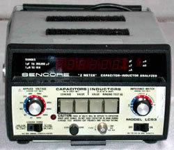 Sencore LC53 Z Meter in