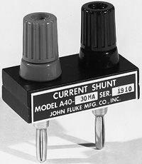 Fluke A40-10A Current Shunt in