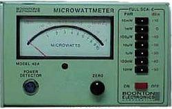 Boonton 42A RF Microwattmeter in