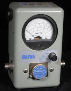 Bird 4308 RF Wattmeter in