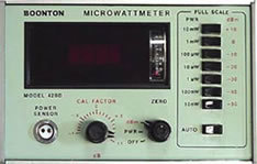 Boonton 42AD RF Microwattmeter in