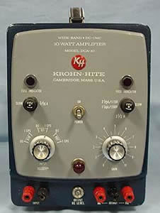 Krohn-Hite DCA10 Direct-Coupled Amplifier in