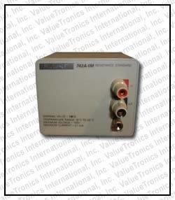Fluke 742A-1M Resistance Standard in