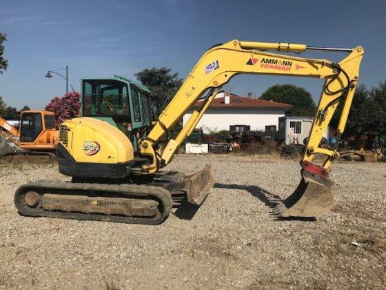 Yanmar Vio 75 mini excavator in Tuscany, Italy
