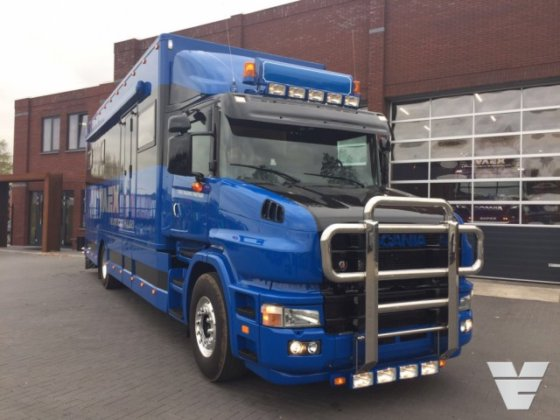 2001 Scania T114-340 Torpedo / Hauber / T-cab, mobile home, COMPLETE NEW  INTERIOR !! in Reek, Netherlands
