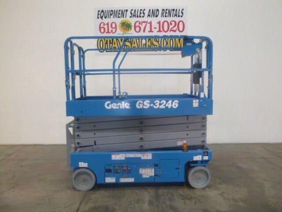 2014 GENIE GS-3246 ELECTRIC SCISSORLIFT #20589 in San Diego, CA, USA