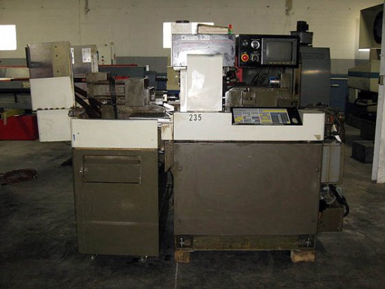 1995 Citizen, L(3)20VII, CNC Swiss