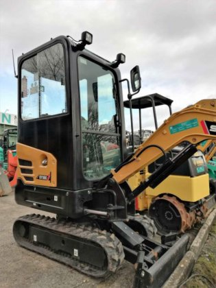 Buy 2017 Mini Excavator Sany SY18 Cabin in Waldshut-Tiengen, Germany