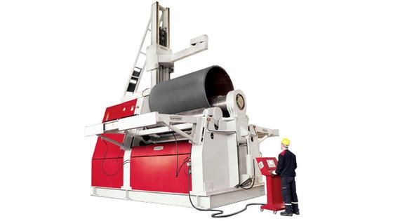 Akyapak AHS 4 Roll Hydraulic