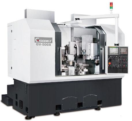 Goodway GV-1000 CNC Vertical Lathe