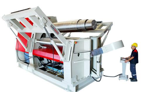 Akyapak AHK 3 Roll Hydraulic