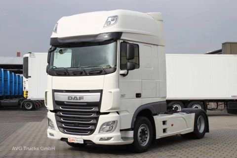 DAF XF 510 SSC EURO 6 tractor for semi-trailer in Frankfurt, Germany