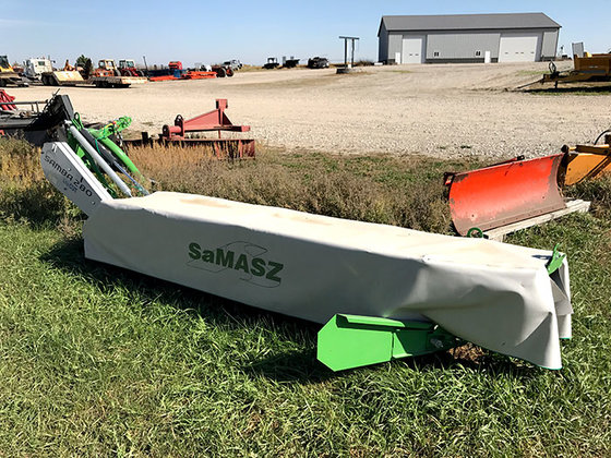 SaMASZ Samba 280 9-Foot Disc Mower in Battle Creek, NE, USA