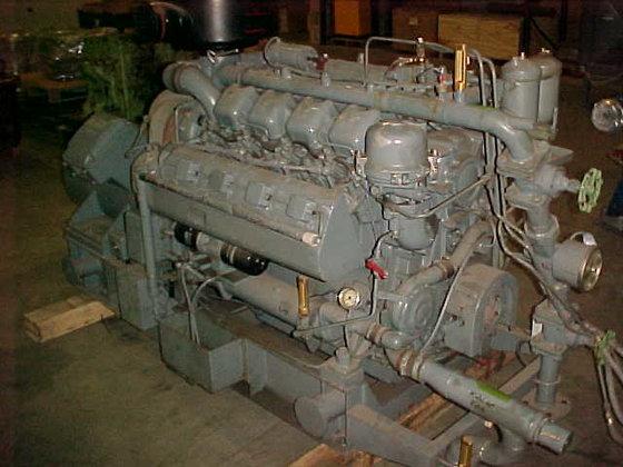 1978 MWM TD 232V8 in