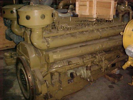1974 MWM RHS 618-V16 in