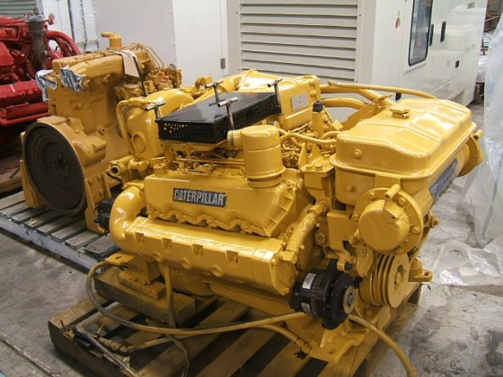 CATERPILLAR D 3208 DITA in