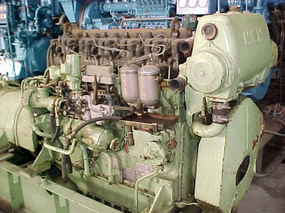1975 MWM RHS 618-S in