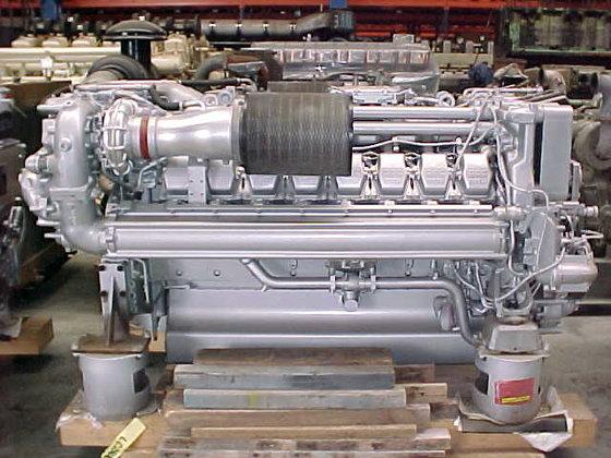 2007 MTU 16V 2000 M70