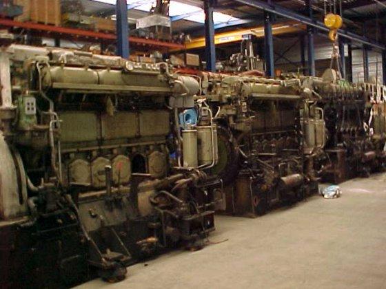 1985 MWM TBD 444-L6 in