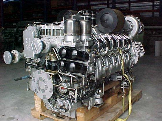 1998 MTU 12V-4000 M60 in