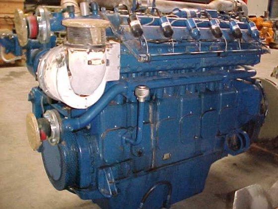 1991 MWM TBG 604-BL6 in