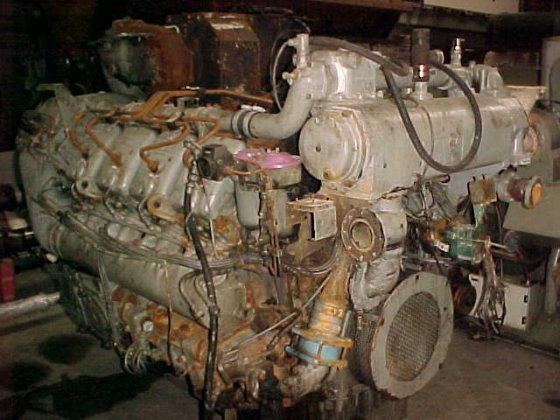 1995 DEUTZ TBD 620-V8 in