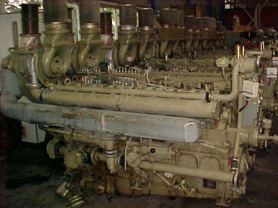 1972 MWM TRHS 518-V16 in