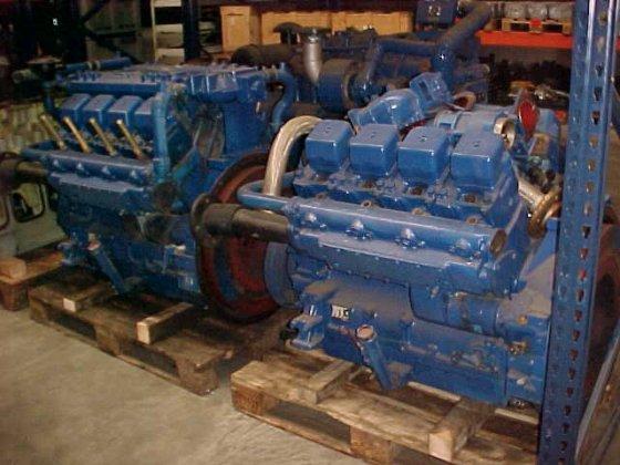 1989 MWM G234-V8 in Netherlands