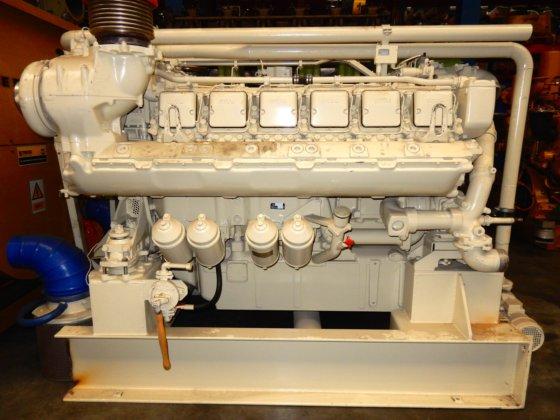 1990 MTU 12V-396 TB34 in
