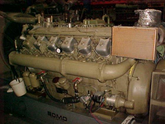 1976 MWM TD 602-V12 in