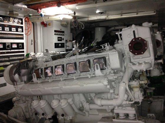 1984 MTU 12V-396 TB93 in