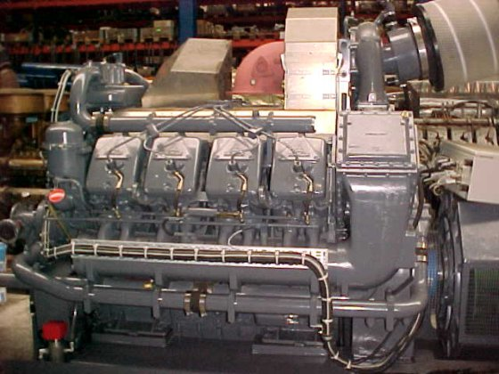 2004 DEUTZ TBD 620-V8 in