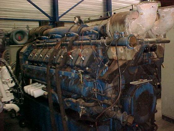 1994 DEUTZ TBG 620-V16 in
