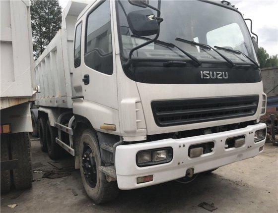 ISUZU Dump Truck In Shanghai,