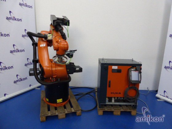 Kuka robot KR 60-3 with control KR C4 and control unit KUKA smartPAD in  Borken, Germany