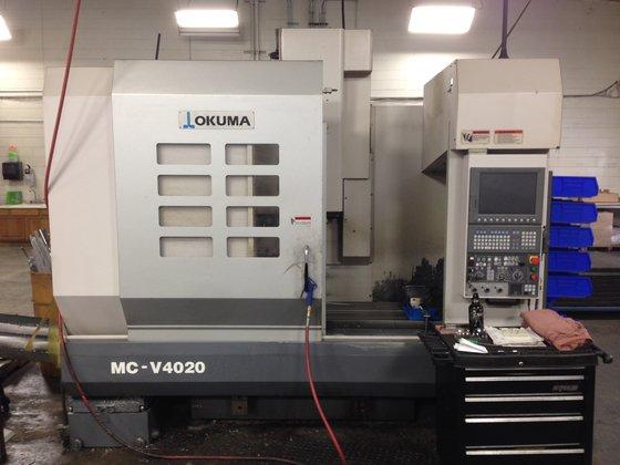 2009 Okuma MC-V4020 CNC Vertical