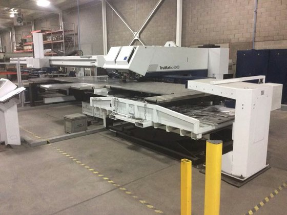 2010 Trumpf TruMatic 6000 Combination
